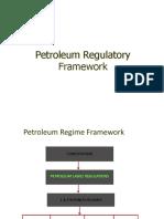 Petroleum Regulatory Frame Work