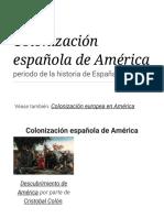 Colonización española de América - Wikipedia, la enciclopedia libre.pdf