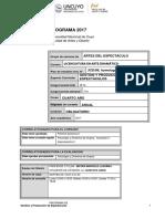 Programa Gestion y Produccion de Espectaculos