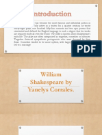 William Shakespeare by Yanelys Corrales.pptx
