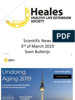 Scientific News 3rd of March 2019