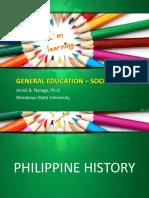 1. Philippine History