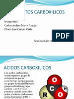 COMPUESTOS CARBOXILICOS