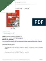 Catálogo de Sellos Edifil 2017 España 2