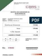 Poder Sale Definition from Santiago Chile Test