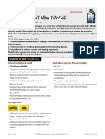Shell-Advance 4T Ultra 10W-40 TDS