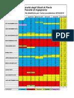 Calendario Didattico 2018-19