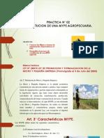 Constitución de Mype