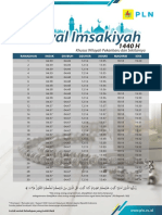 Jadwal Imsakiyah Ramadan 1440H_Pekanbaru
