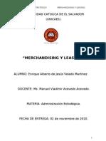 Merchandancig Vrs Leasing