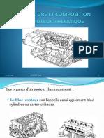 Architecture Et Composition d'Un Moteur Thermique