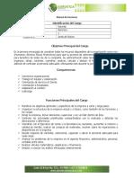 Manual de Funciones Adriatica Gerente General