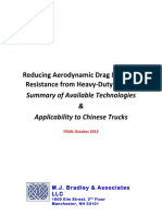 ReducingAerodynamicDrag &Rolling  Resistance from Heavy-Duty Trucks