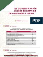 Profeco verifica 125 gasolineras del país
