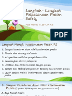 06. Tk.2 Md. Langkah Langkah Patient Safety Di Rs - (Patient Safety)