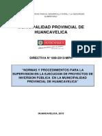 DIRECTIVA N° 009-2013 SUPERVISION DE PROYECTOS - copia.docx