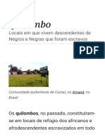 Quilombo – Wikipédia, A Enciclopédia Livre