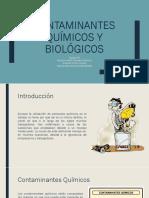 Contaminantes Químicos y Biológicos