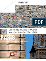 Space Invader in Paris VII (7th arrondissement) as of April 2019