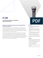 Fi 60 Live Fiber Identifier Integrated Optical Power Meter Data Sheets En