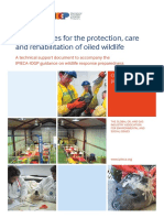 Key Principles for the Protection Care and Rehabilitation of Oiled Wildlife 2017