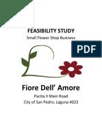 Flower Shop Feasibility Study