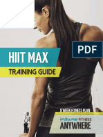 HIIT Max Training Guide