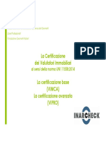 Inarcheck Brochure Valutatori Immobiliari