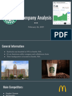 starbucks company analysis