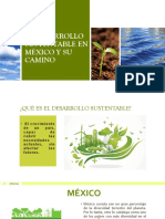 EL DESARROLLO SUSTENTABLE EN MÉXICO Y SU TRANSCENDENCIA