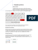 Excel Fórmulas sencillas