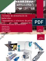 Sistemas de Alimentacion y Colectores de Polvo