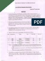 June 2019 G.P Repeater Examination