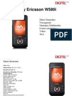 configuracion internet etc, w580i digitel venezuela