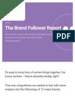 The Brand Follower Report | Brandwatch