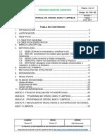 Programa de Orden y Aseo Del Tolima