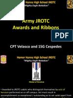 army jrotc awards and ribbons  2