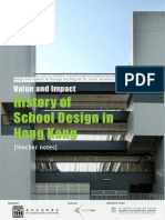 History of School Design in Hong Kong