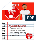 Five Ways to Stop Bullying