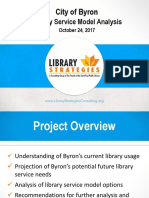 library strategies feasibility study first phase powerpoint presentation