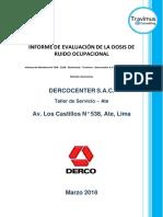 Informe de Monitoreo N° 004 - 2018 - Dosimetría - Travimus - Dercocenter S.A.C. - Ate - Taller Chinos.docx