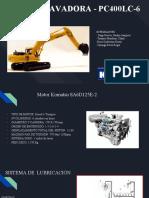 Sistema de Lubricación - Motor Komatsu SA6D125E-2