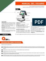 Manual de Usuario POS Scale 15 15 MODELO QBPO1801