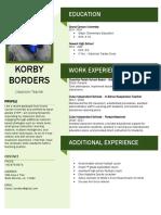 korby 2019 resume  2