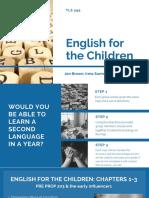 final tls 595-english for the children presentation