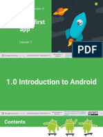 01.0 Introduction to Android (1)