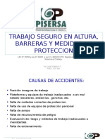 Trabajos en Alturas Proteccion Perimetral y Uso de ArneS.