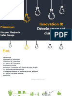 Innovation Et Devpt Durable