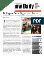 Bologna Show Daily 2019