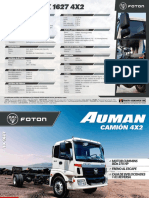 Camion Foton 4x2 270 HP Blanco